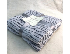 PLD-зебра  150х200  плед бамбуковый Retrouyt
