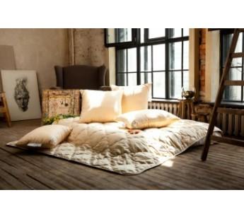 """Одеяло с наполнителем бамбуковое волокно стеганое Антистресс """"Цветочное разнотравье"""" 150х200 Natures (Натурес)"""
