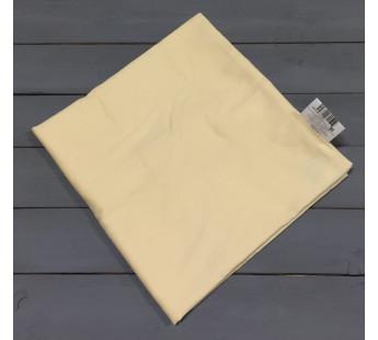 Н-С-50-БЕЖ бежевая наволочка ткань сатин 2шт.-50х70