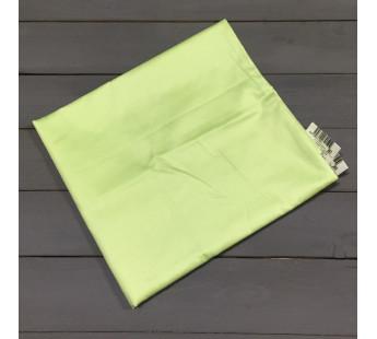 Н-С-70-САЛ салатовая наволочка ткань сатин 2шт.-68х68