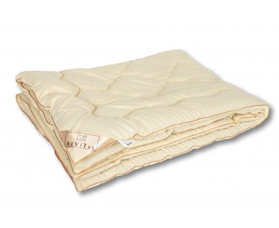 ОМШ-20 Одеяло  из овечьей шерсти меринос Модерато-Эко 172х205 классическое-всесезонное