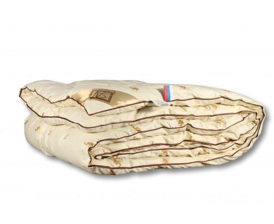 ОВШ-КВ-20 Одеяло из верблюжьей шерсти САХАРА 172х205 классическое-всесезонное