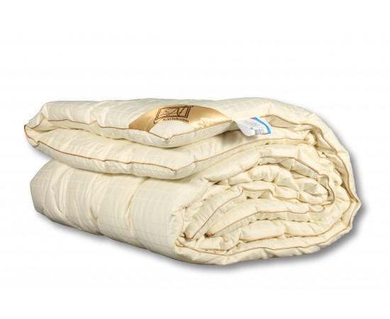 МС-КВ-22 Одеяло  из овечьей шерсти меринос Модерато 200х220 классическое-всесезонное