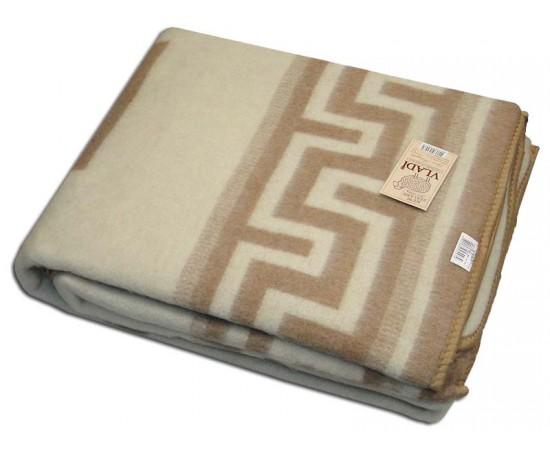 Одеяло Греция 100% х/б 170х210 бел-беж