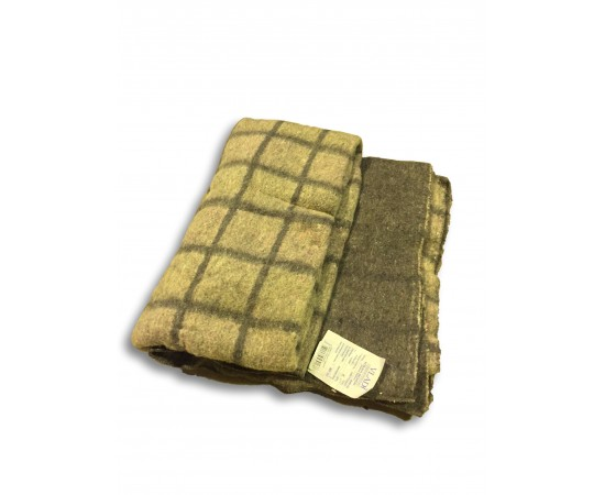 Одеяло Эконом (оверлок), 140х205, 75% шерсть