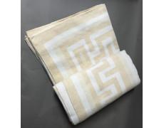 """Одеяло """"Греция""""  140х205 бел-беж"""