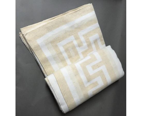 Одеяло Греция  140х205 бел-беж