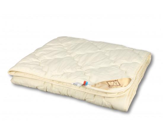 МС-В-15 Одеяло  из овечьей шерсти меринос Модерато140х205 всесезонное