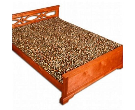 ZA MF a15 Шкура леопарда рыжая 150х200 микрофибра плед Absolute