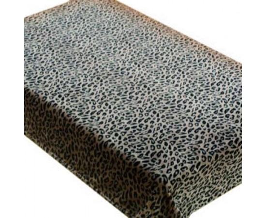 ZA MF 143BR Шкура леопарда 180х230 микрофибра плед Absolute