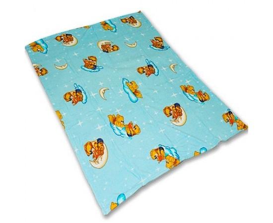 TCH MF a152 Мишки на небе 110х140 микрофибра плед-одеяло дет.Amore Mia
