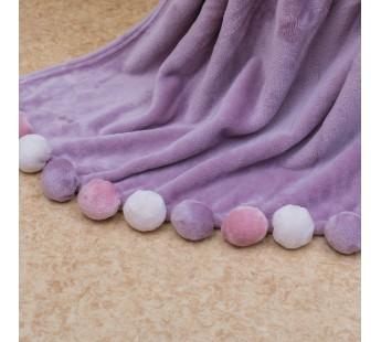 Шары (фиолет) Плед 220х240