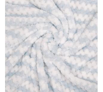 Полосы (голубой) Плед 220х240