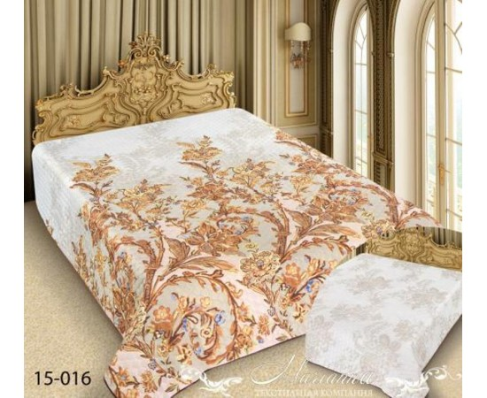 15-016 180х220 Barokko Покрывало ультрастеп Марианна