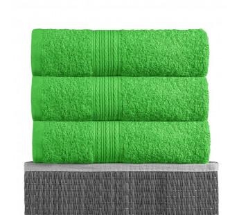 Ярко-зеленая 180х210 Простыня Махровая BAYRAMALY
