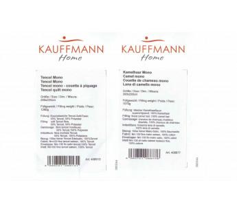 Одеяло верблюжье стеганное «Camel Mono» 200*200  Kauffmann Австрия