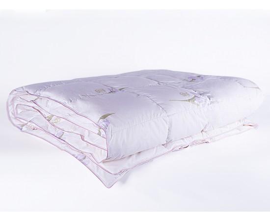 Одеяло кассетное пуховое Царственный Ирис 150х200