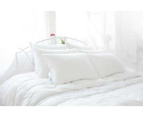 Одеяло кассетное пуховое Серебряная мечта 140х205