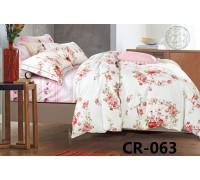 CR-063 Комплект постельного белья евро сатин люкс Retrouyt