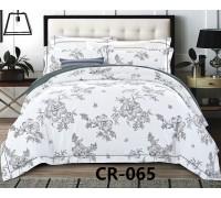 CR-065 евро Комплект постельного белья сатин люкс Retrouyt