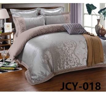 КПБ JCY-018 евро сатин-жаккард с вышивкой Retrouyt