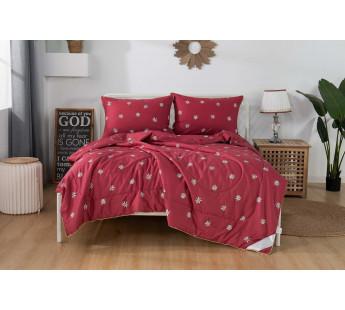 Комплект постельного белья евро с одеялом  ДЖЕННА беж