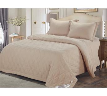 Камелия (беж) Комплект с одеялом семейный