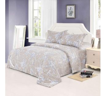 Комплект постельного белья евро с одеялом  ВАНГА сер