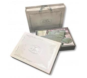 CJA-7-020 КПБ Семейный Сатин Жаккард нав-ки ( 70х70х2 шт+50х70х2шт ) в коробке АльВиТек