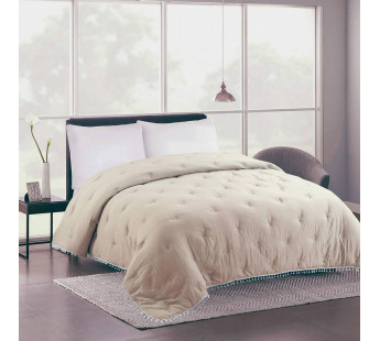 YASMIN(беж) Покрывало-одеяло жатка хлопковое 230х250